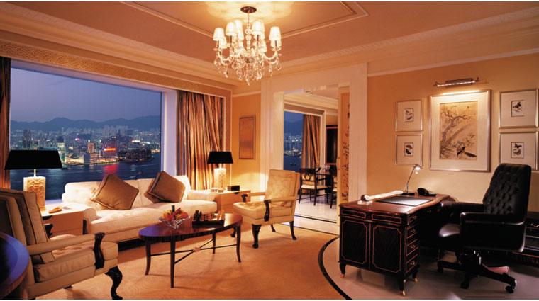 PropertyImage IslandShangriLa HongKong Hotel Guestrooms PresidentialSte LivingRm CreditIslandShangriLa