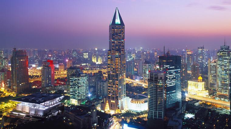 PropertyImage JWMarriottHotelShanghaiatTomorrowSquare Shanghai Hotel Exterior CreditMarriottInternationalInc