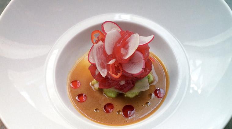 PropertyImage JeanGeorges NewYork Restaurant Food 2 CreditTrumpInterationalHotelAndTower