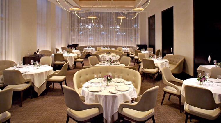 PropertyImage JeanGeorges NewYork Restaurant Style Interior CreditTrumpInterationalHotelAndTower
