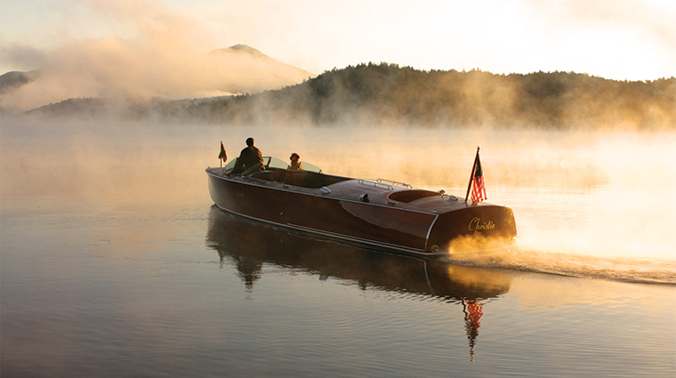 PropertyImage LakePlacidLodge Hotel Activities BoatToursonLakePlacid CreditLakePlacidLodge