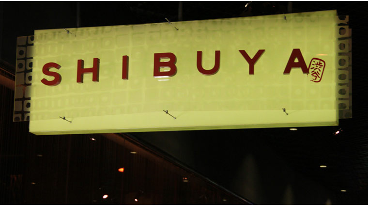 PropertyImage MGMGrand LasVegas Restaurant Shibuya Style Signage CreditFiveStarTravelCorp