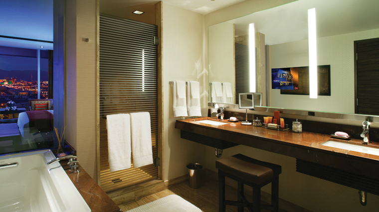 PropertyImage MResortSpaCasino Hotel GuestroomSuite ResortRoom Bathroom CreditMResortLLC