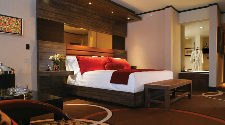 PropertyImage MResortSpaCasino Hotel GuestroomSuite ResortRoom Bedroom CreditMResortLLC