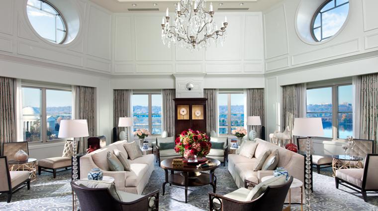 PropertyImage MandarinOrientalWashingtonDC 5 Hotel GuestroomsSuites PresidentialSuite LivingRoom CreditMandarinOrientalHotelGroup