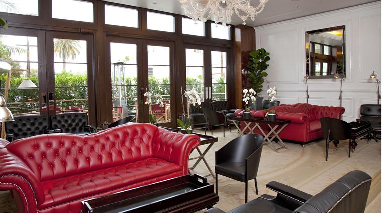 PropertyImage MrCBeverlyHills Hotel BarLounge LobbyLounge CreditMrCBeverlyHills