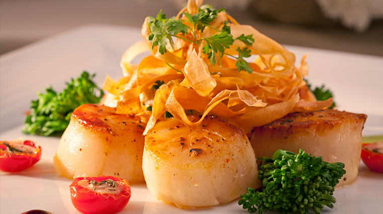 PropertyImage PYSteakhouse Restaurant Food Scallops CreditCasinoDelSol