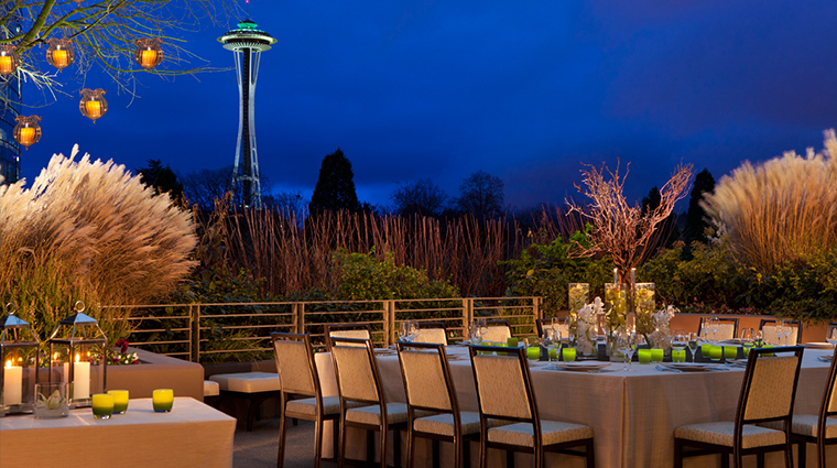 PropertyImage PanPacificHotelSeattle Hotel GuestroomsandSuites OutdoorTerrace CreditPanPacificHotelsandResorts