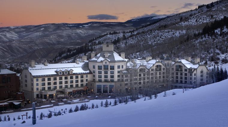 PropertyImage ParkHyattBeaverCreekResortAndSpa Colorado Hotel Exterior ExteriorAtDusk Credit HyattHotels