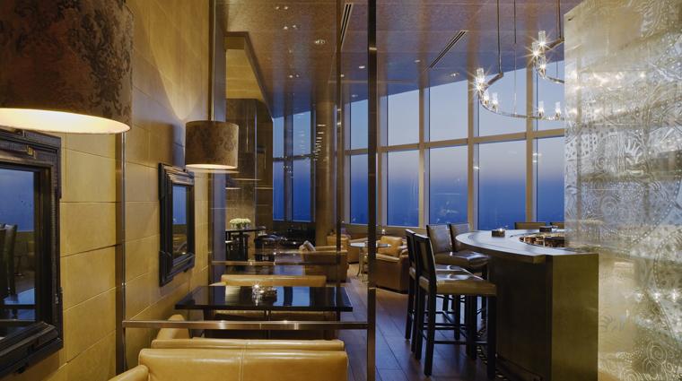 PropertyImage ParkHyattShanghai Shanghai Hotel BarLounge Bar Interior CreditHyattCorporation