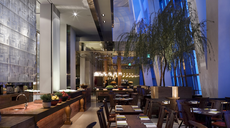 PropertyImage ParkHyattShanghai Shanghai Hotel Restaurant 100CenturyAvenue Style Interior CreditHyattCorporation