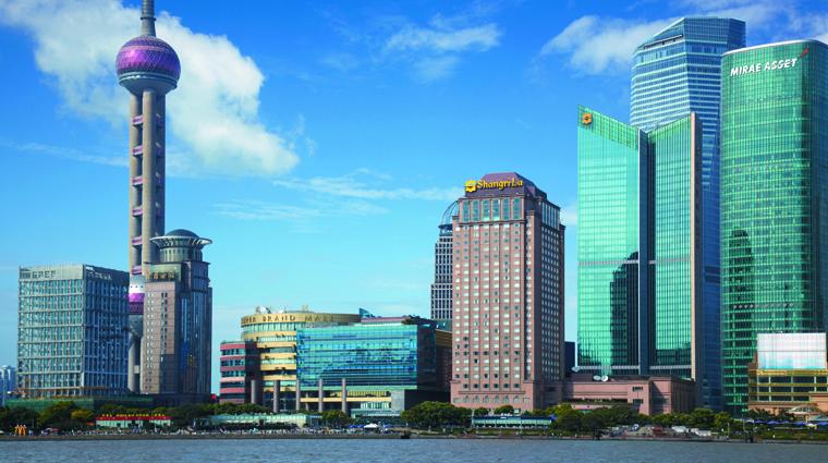 PropertyImage PudongShangriLaShanghai Shanghai Hotel Exterior CreditShangriLaInternationalHotelManagementLtd