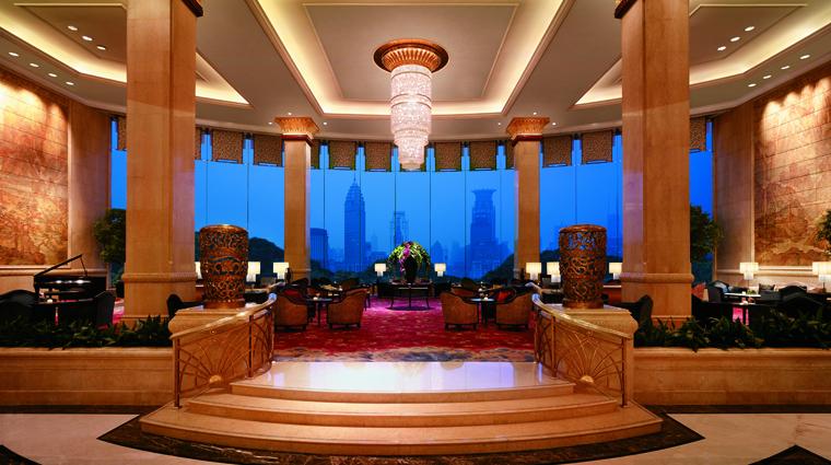 PropertyImage PudongShangriLaShanghai Shanghai Hotel PublicSpaces RiverWingLobby CreditShangriLaInternationalHotelManagementLtd