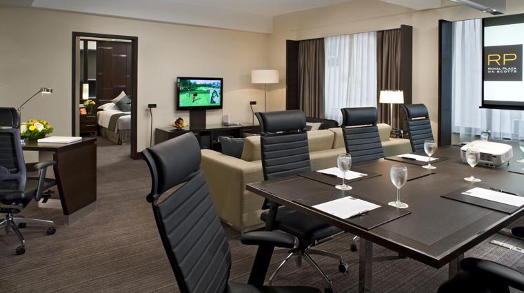 PropertyImage RoyalPlazaonScottsSingaporeHotel Hotel GuestRoomSuite CorporateSuite DiningRoom CreditRoyalPlazaOnScotts