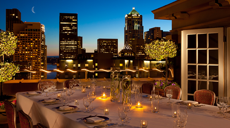 PropertyImage SorrentoHotelSeattle Hotel GuestroomsandSuites PenthouseTerrace CreditSorrentoHotelSeattle
