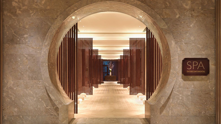 PropertyImage SpaInterContinental Shanghai Spa Basics Entrance CreditInterContinentalHotelsGroup