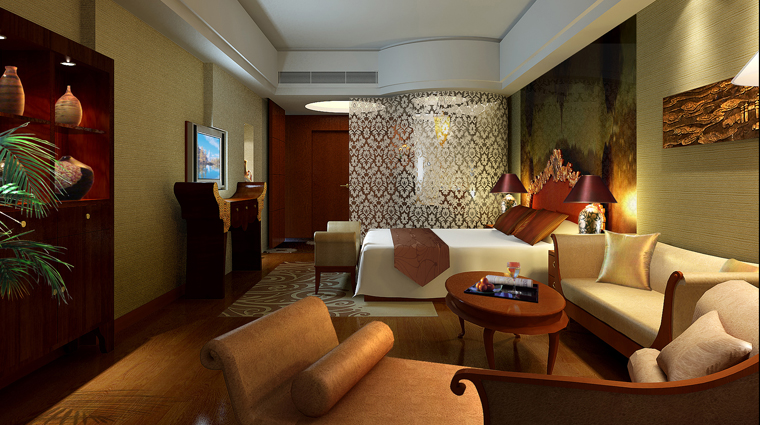 PropertyImage SwissotelGrandShanghai Shanghai Hotel Guestroom PresidentialSuite Bedroom CreditSwissotelHotelsandResorts