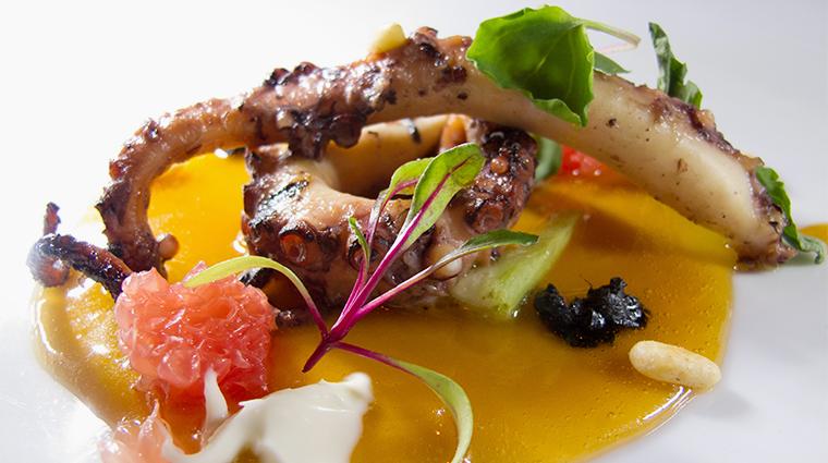 PropertyImage TERestaurant Restaurant Food 1 BabyOctopusDish CreditTheInnAtLeolaVillage
