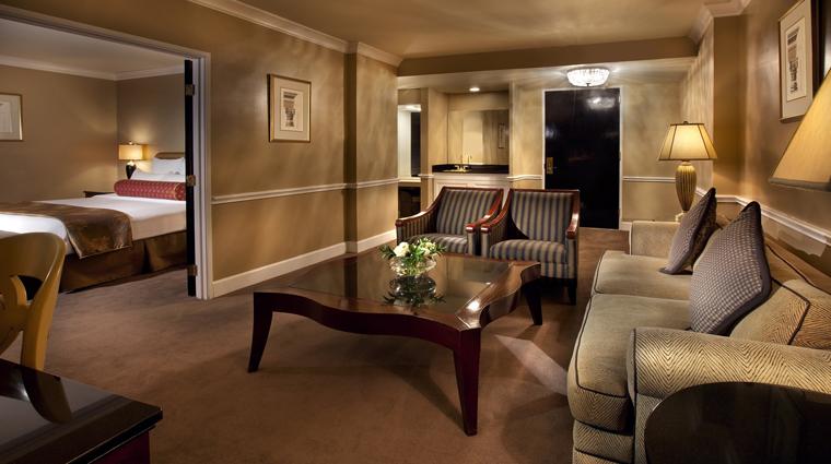 PropertyImage TheBensonHotel Hotel GuestroomsSuites PenthouseSuite LivingRoom CreditCoastHotelsAndResorts