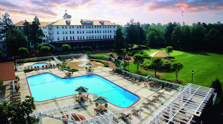 PropertyImage TheCarolina 10 Hotel Exterior Pool CreditPinehurstLLC