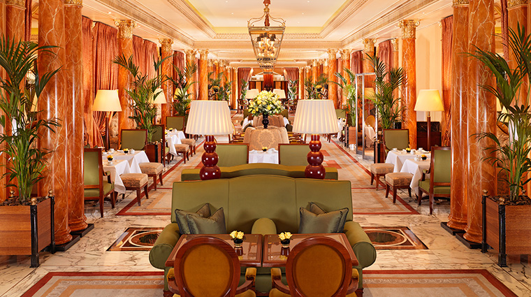 PropertyImage TheDorchester Hotel Restaurant ThePromenade Interior CreditDorchesterCollection