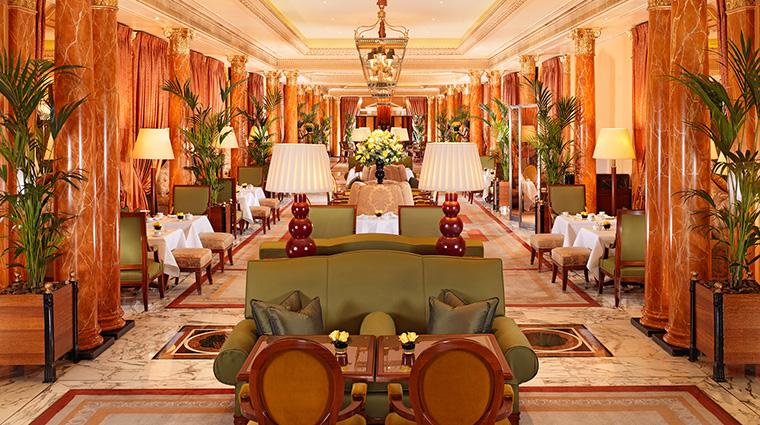 PropertyImage TheDorchester Hotel Restaurant ThePromenade Interior CreditDorchesterCollection