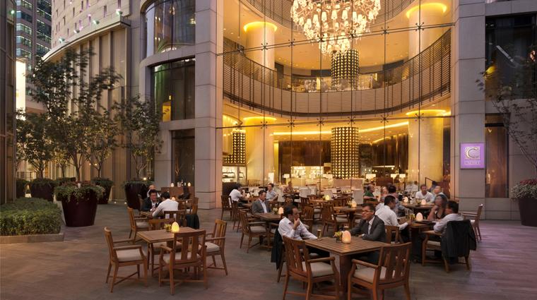 PropertyImage TheLanghamXintiandiShanghai Hotel Restaurant Cachet OutdoorTerrace CreditLanghamHotelsInternationalLimited