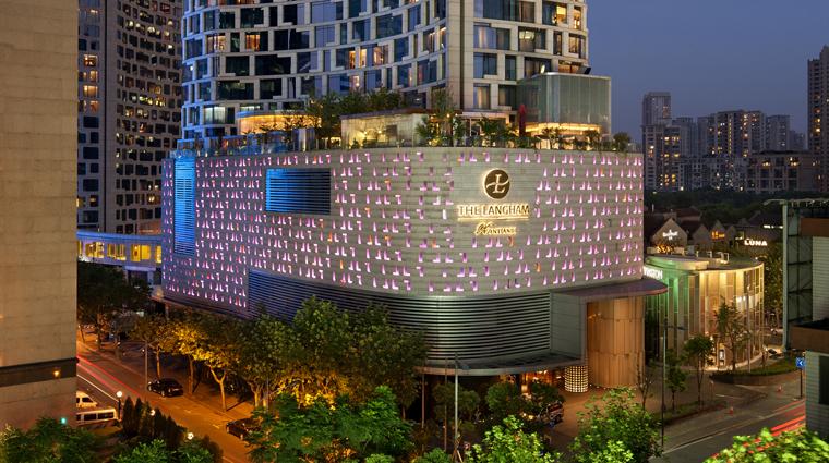 PropertyImage TheLanghamXintiandiShanghai Shanghai Hotel ExterioratNight CreditLanghamHotelsInternationalLimited