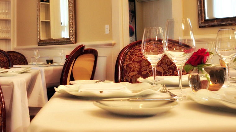 PropertyImage ThePaintedLadyRestaurant Restaurant Style DiningRoomTableSetting CreditThePaintedLadyRestaurant
