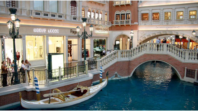 PropertyImage ThePalazzo LasVegas Hotel Activities Shopping 2 CreditTheFiveStarTravelCorporation