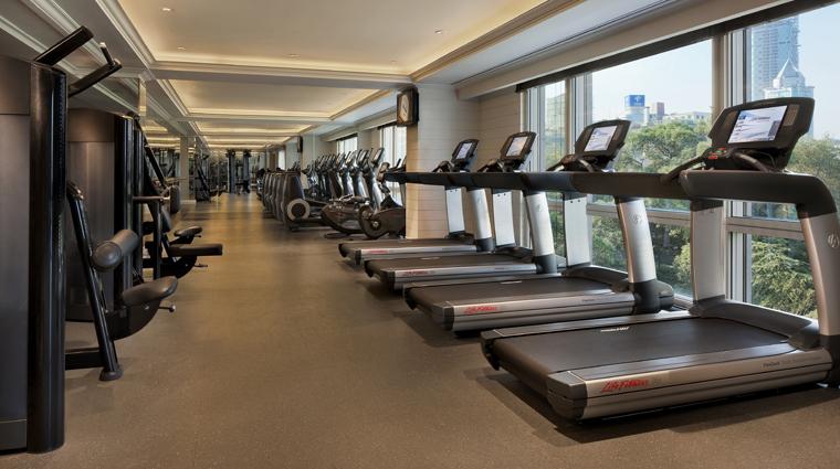PropertyImage ThePeninsulaShanghai Shanghai Hotel PublicSpaces FitnessCenter CreditTheHongkongAndShanghaiHotelsLimited