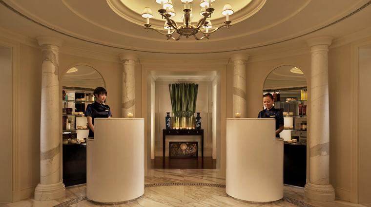PropertyImage ThePeninsulaSpabyESPAShanghai Shanghai Spa Style SpaReception CreditTheHongkongandShanghaiHotelsLimited