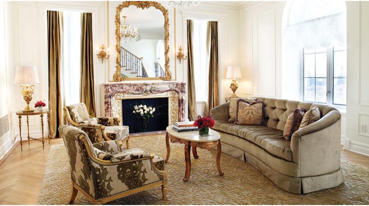 PropertyImage ThePlazaHotel NewYork Hotel GuestroomsSuites RoaylTerraceSuite LivingRm CreditFairmontHotelsandResorts