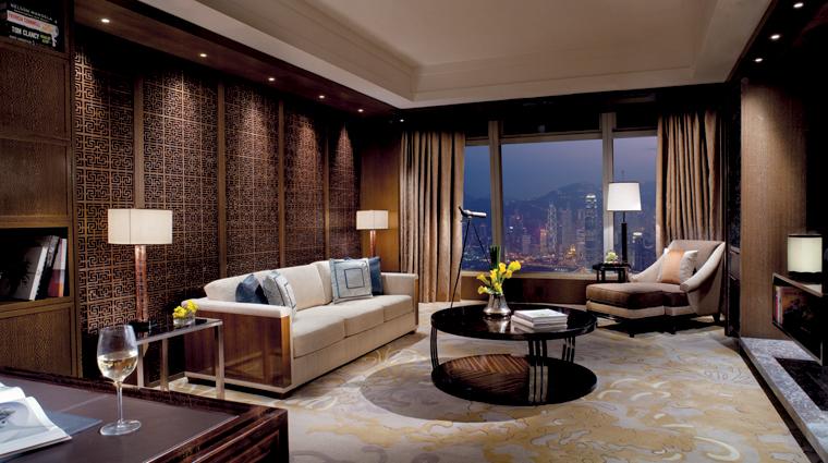 PropertyImage TheRitzCarltonHongKong Hotel GuestroomSuites PremierExecutiveSuite Credit TheRitzCarltonHotelCompanyLLC