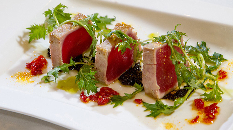 PropertyImage TheRugbyGrille 13 Food Tuna CreditTheTownsendHotel