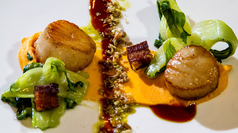 PropertyImage TheRugbyGrille 15 Food Scallops CreditTheTownsendHotel