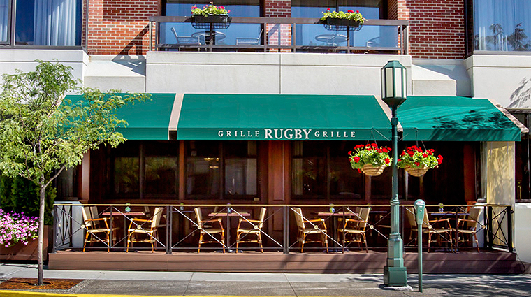 PropertyImage TheRugbyGrille 1 Restaurant Exterior CreditTheTownsendHotel
