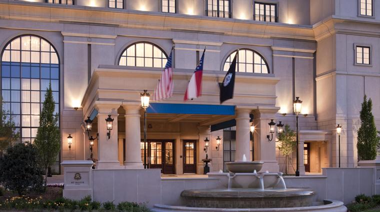 PropertyImage TheStRegisAtlanta Atlanta Hotel Exterior 2 CreditStarwoodHotelsandResortsWorldwideInc