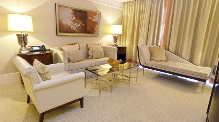 PropertyImage TheStRegisAtlanta Atlanta Hotel GuestroomSuite StRegisSuite SittingRoom CreditTheFiveStarTravelCorporation