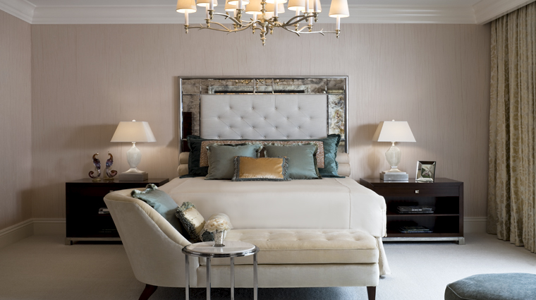 PropertyImage TheStRegisAtlanta Atlanta Hotel Guestroom EmpireSuite Bedroom CreditStarwoodHotelsandResortsWorldwideInc