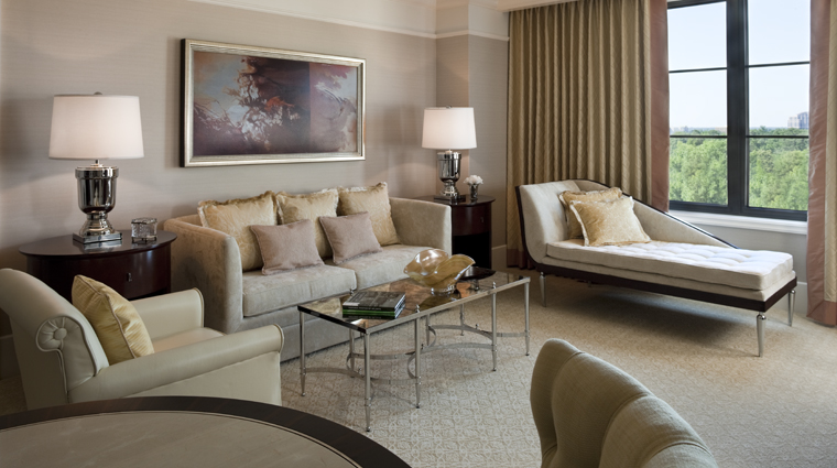 PropertyImage TheStRegisAtlanta Atlanta Hotel Guestroom StRegisSuite LivingRoom CreditStarwoodHotelsandResortsWorldwideInc
