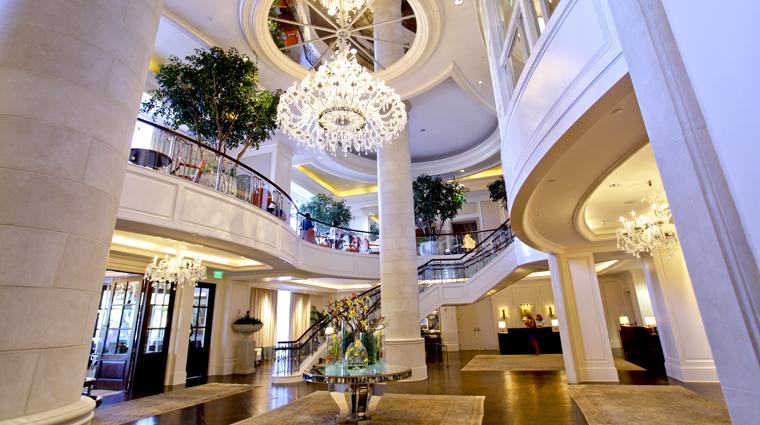 PropertyImage TheStRegisAtlanta Atlanta Hotel PublicSpaces Lobby 3 CreditTheFiveStarTravelCorporation