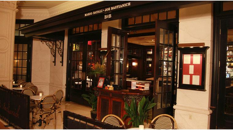 PropertyImage TheVenetian LasVegas Restaurant BandBRistorante Style Entrance CreditTheFiveStarTravelCorporation