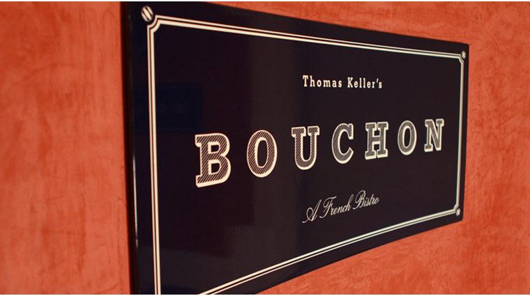 PropertyImage TheVenetian LasVegas Restaurant Bouchon Style Signage CreditTheFiveStarTravelCorporation