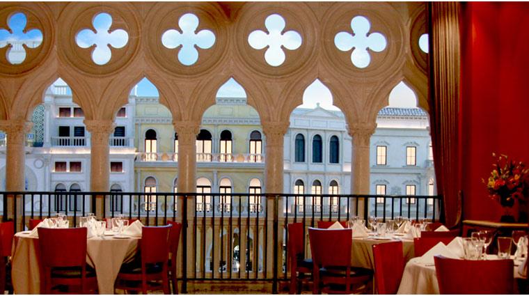 PropertyImage TheVenetian LasVegas Restaurant Canaletto Style Interior 3 CreditTheFiveStarTravelCorporation