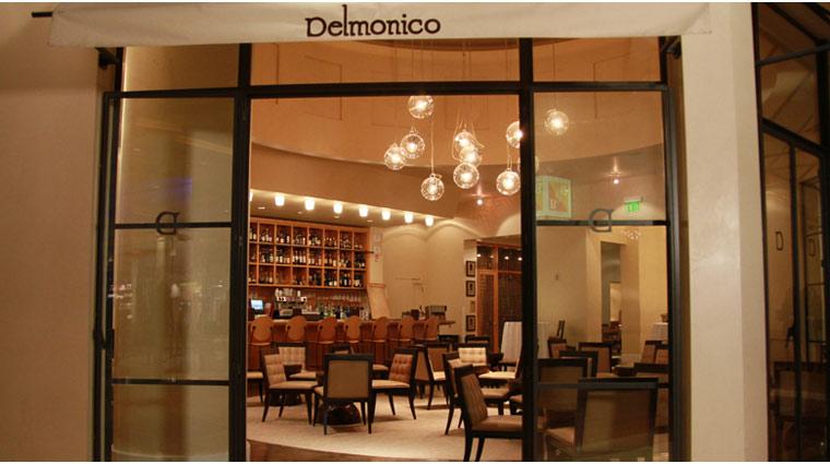 PropertyImage TheVenetian LasVegas Restaurant DelmonicoSteakhouse Style Entrance CreditTheFiveStarTravelCorporation