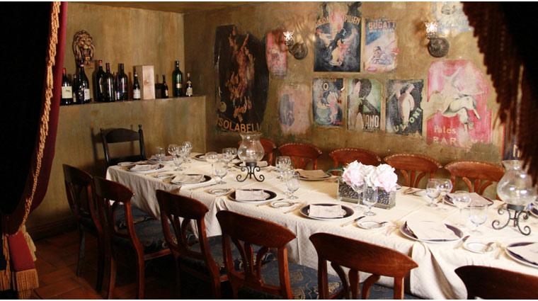 PropertyImage TheVenetian LasVegas Restaurant Zeffirino Style Interior 3 CreditTheFiveStarTravelCorporation