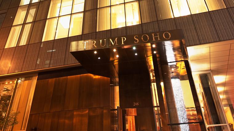 PropertyImage TrumpSoHo NewYork Hotel Exterior Entrance CreditTrumpSoHoHotel