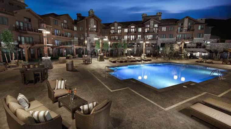 PropertyImage WaldorfAstoriaParkCity Utah Hotel Pool PoolCourtyard Credit WALDORFASTORIAPARKCITY