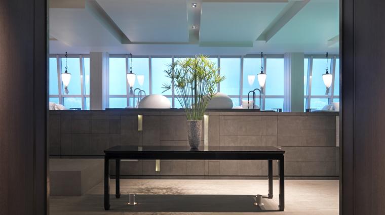 PropertyImage WatersEdgeShanghai Shanghai Spa Basics Lobby CreditHyattCorporation